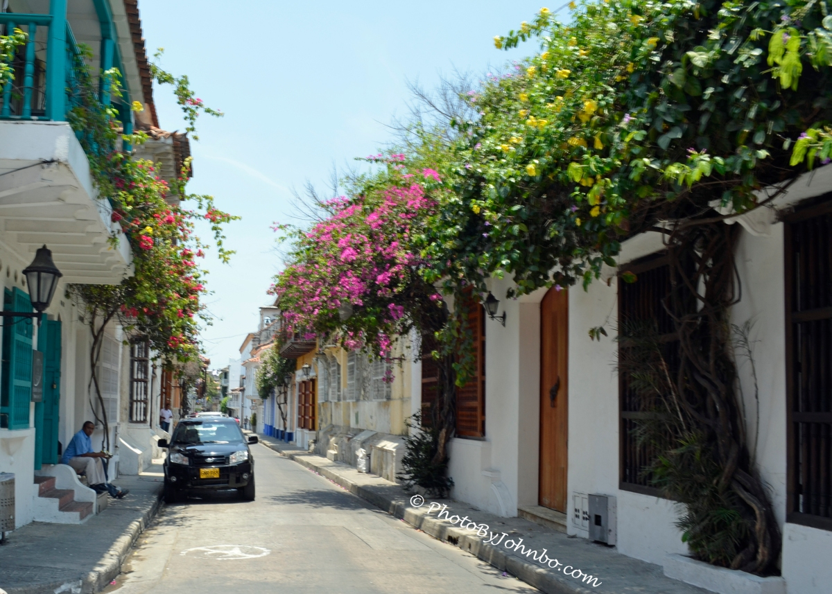 Cartagena, Romancing the Stone Wall