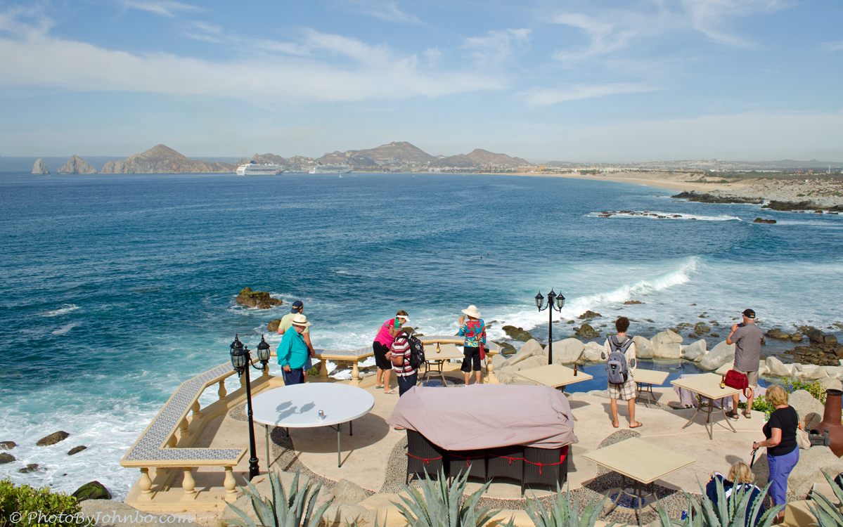 Cabo san lucas cruising around the cape journeys with for Terrace 45 restaurant