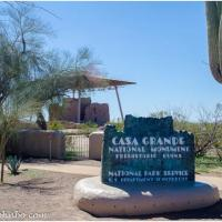 The Ruins at Casa Grande – Prehistoric Remains of an Ancient Culture