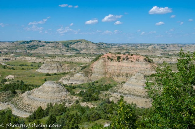 There is room to roam in Theodore Roosevelt National Park in North Dakota.