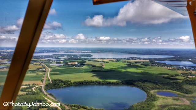 Detroit Lakes by Floatplane