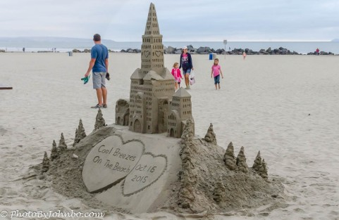 The work of the Sandcastle Man