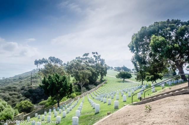 Fort Rosecrans National Cemetery.