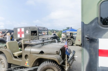 Military Vehicle exhibit.