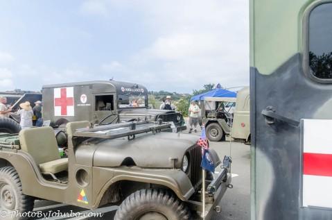 Military Vehicle exhibit.