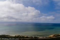 The mighty Pacific looking west toward Hawaii.