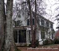 Dorsett house from the east side.