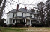 Ned B. Bray house, Queen Anne architecture combined with Tuscan Porch & Columns of Colonial Revival, built in 1911.