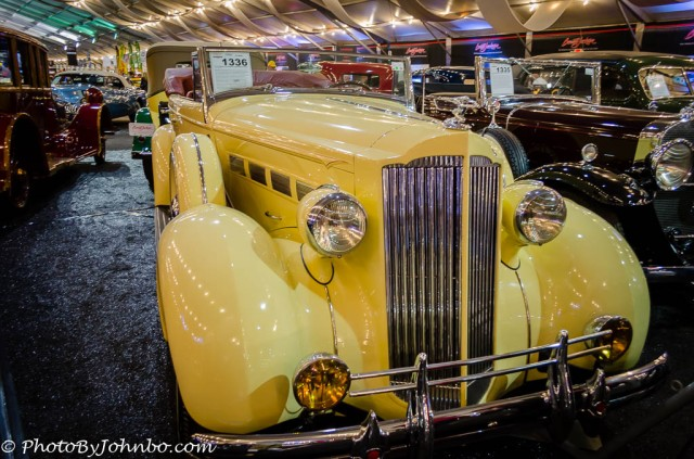 1937 Packard 120 Straight-8 Convertible Sedan