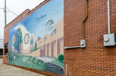 Mural of Chatham Hospital.