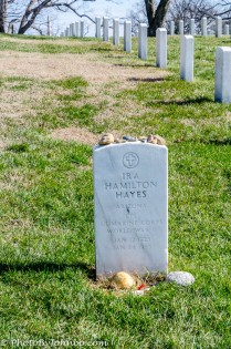 Grave of Ira Hayes.