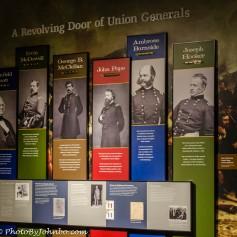 A diorama of Generals
