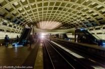 The Washington Metro Subway System.
