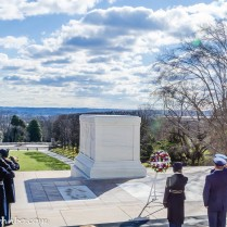 Wreath Presentation at the Tomb of the Unknowns.