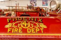 An early Phoenix fire engine.