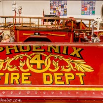 An early Phoenix fire engine.