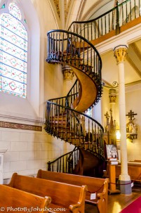 The Miraculous Staircase.