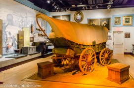 Covered wagon.