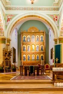 Basilica main altar.