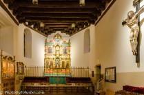 Original chapel altar of the Basilica.