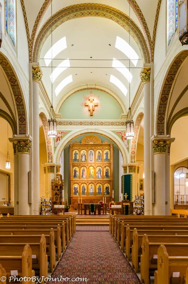 Basilica Chapel interior.