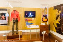 A small part of the Elvis Presley display.