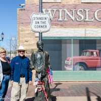 Winslow Arizona - Taking It Easy at the Standin' on the Corner Park