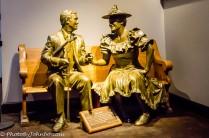 Roy Acuff and Minnie Pearl.
