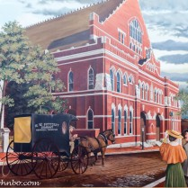 Depiction of the Ryman in its early days.