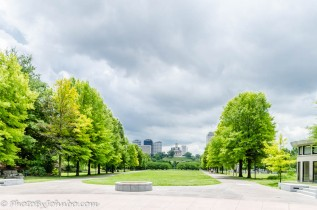 View of the Capitol from Bicentennial Mall.