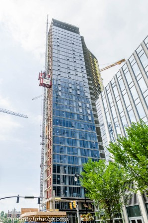 New skyscraper under construction.