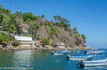 Yelapa, Mexico is only accessible by watercraft.