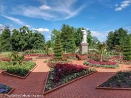Victorian Garden view.