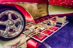 another underside view of this classic sports car.