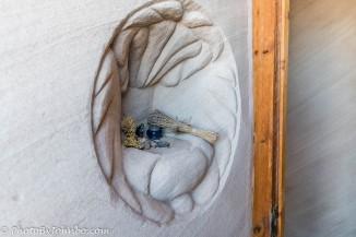Cave sculpture.