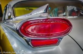 50's era Oldsmobile tail light
