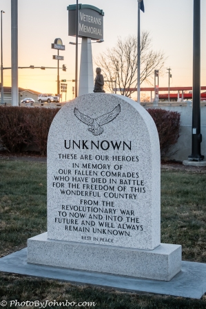Memorial to the unknowns.