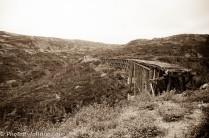 Tressle Bridge near Skagway, AK.