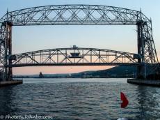 Iconic lift bridge at Duluth, MN.