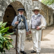 Texan settlers/soldiers.