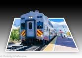 New Mexico's Rail Runner commuter train