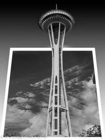 Seattle's iconic space needle