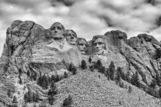 Mount Rushmore BW-1