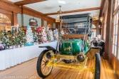 A restored Stanley Steamer.