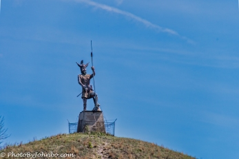 Viking Statue.
