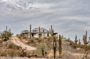 Residence house for mine investors.