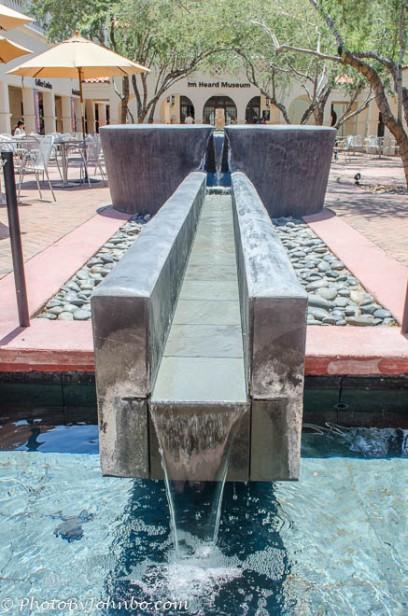 Fountain at Heard Museum, Phoenix, AZ