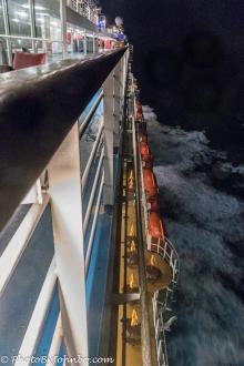 Night view under sail