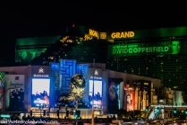 MGM Grand at Night.