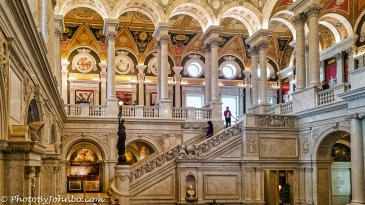 Great Hall, Library of Congress.